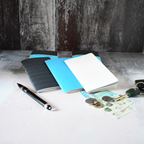 write notes tasca pocket notebooks plain, ruled, dot grid