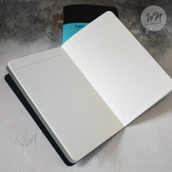 write notes - tasca pocket notebooks 5mm dot grid