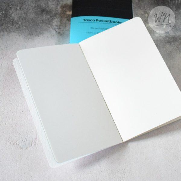 write notes - tasca pocket notebooks plain triple stapled