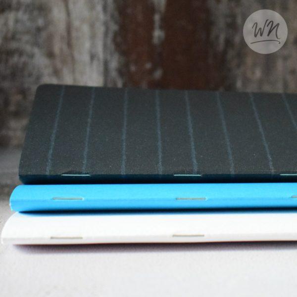 write notes - tasca pocket notebooks triple stapled saddle stiched