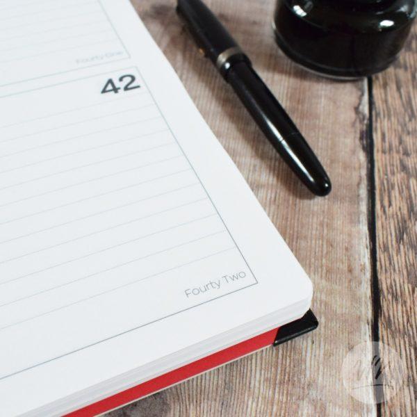 giorno writing journal - undated diary